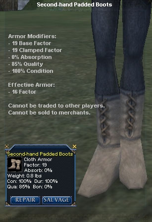 Picture for Second-hand Padded Boots