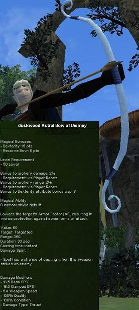 Picture for Duskwood Astral Bow of Dismay (Hib) (nld)
