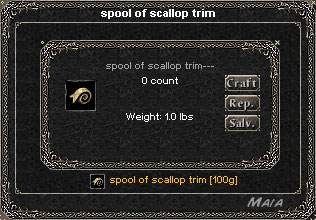 Picture for Spool of Scallop Trim