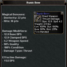 Picture for Runic Bow