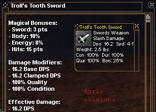 Picture for Troll's Tooth Sword