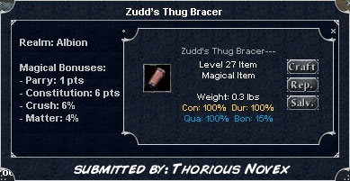 Picture for Zudd's Thug Bracer