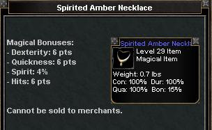 Picture for Spirited Amber Necklace