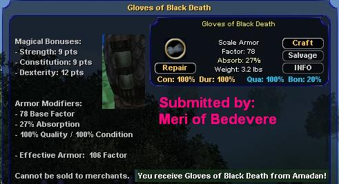 Picture for Gloves of Black Death