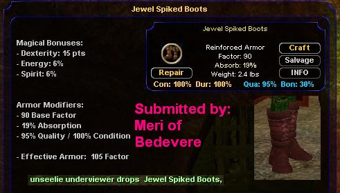 Picture for Jewel Spiked Boots