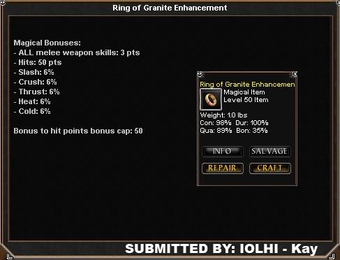 Daoc Ring Of Granite Enhancement