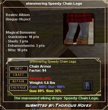 Picture for Speedy Chain Legs (u)