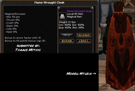 Picture for Flame Wrought Cloak