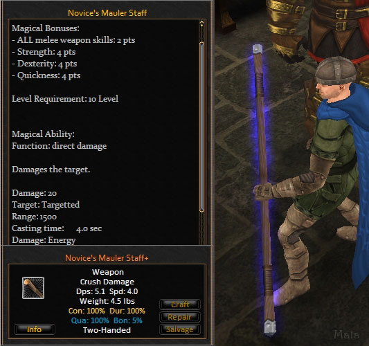 Picture for Novice's Mauler Staff