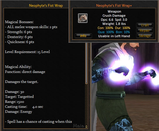 Picture for Neophyte's Fist Wrap