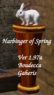 Picture for Harbinger of Spring Floor Trophy