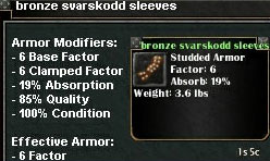 Picture for Bronze Svarskodd Sleeves