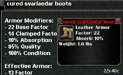 Picture for Cured Svarlaedar Boots