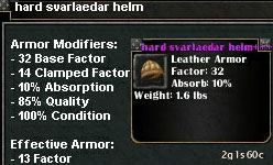 Picture for Hard Svarlaedar Helm