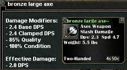 Picture for Bronze Large Axe