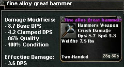 Picture for Fine Alloy Great Hammer (Mid)