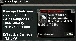 Picture for Steel Great Axe (Mid)