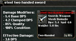 Picture for Steel Two-Handed Sword (Mid)