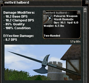 Picture for Mithril Halberd