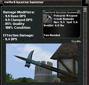 Picture for Mithril Lucerne Hammer