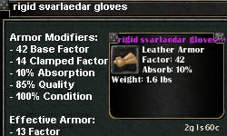 Picture for Rigid Svarlaedar Gloves