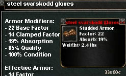 Picture for Steel Svarskodd Gloves