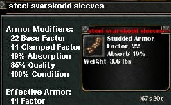 Picture for Steel Svarskodd Sleeves