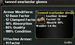 Picture for Tanned Svarlaedar Gloves