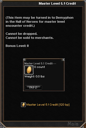 Picture for Master Level 5.1 Credit
