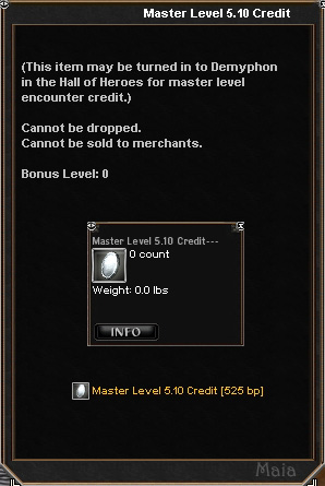 Picture for Master Level 5.10 Credit