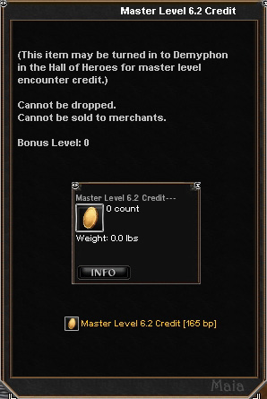 Picture for Master Level 6.2 Credit