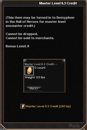 Picture for Master Level 6.3 Credit