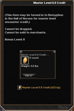 Picture for Master Level 6.9 Credit