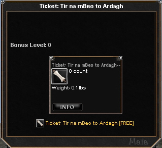 Picture for Ticket: Tir na mBeo to Ardagh