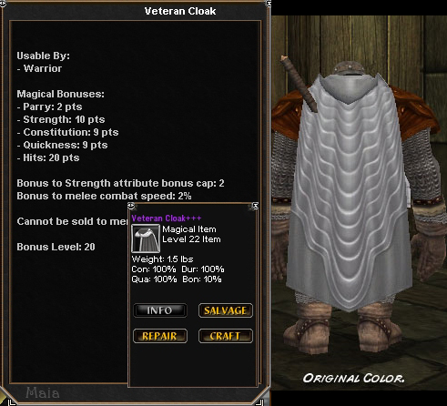 Picture for Veteran Cloak
