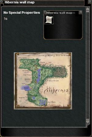 Hibernia Wall Map :: Items :: Dark Age of Camelot :: ZAM