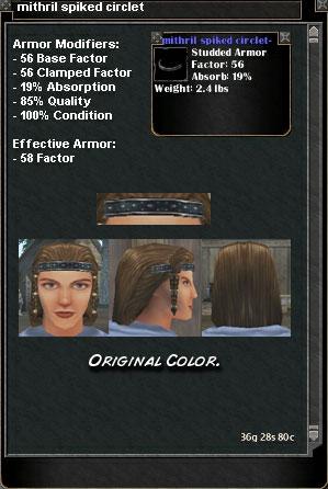 Picture for Mithril Spiked Circlet