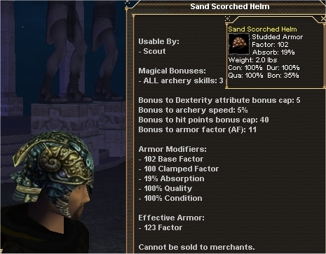 Picture for Sand Scorched Helm (Alb) (scout)
