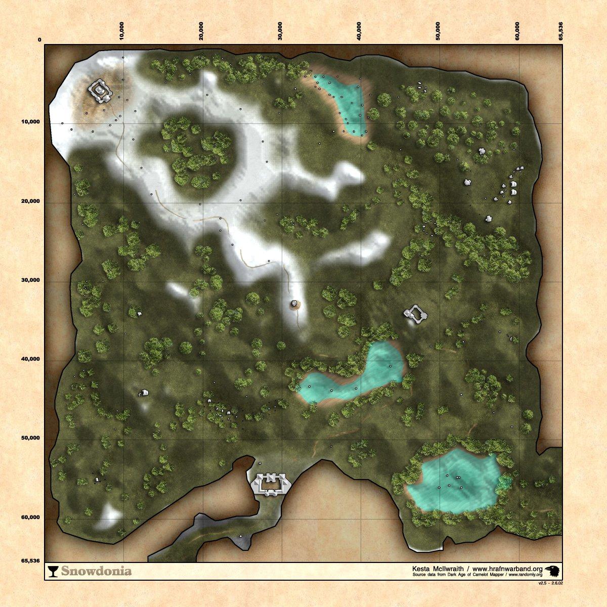 Snowdonia :: Zones :: Dark Age of Camelot :: ZAM