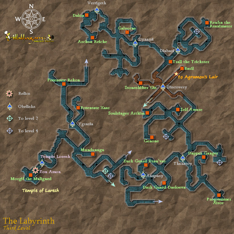 Torchlight 2 World Map.The Labyrinth Zones Dark Age Of Camelot Zam